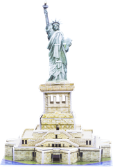 Pappersmodell Statue Of Liberty