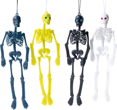 Small Skeletons in Different Colors