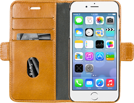 D.Bramante Lynge iPhone 6/7/8 Golden Tan