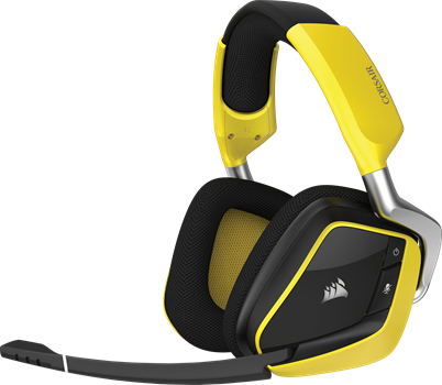 Corsair Gaming VOID PRO SE Wireless 7.1 RGB Yellow