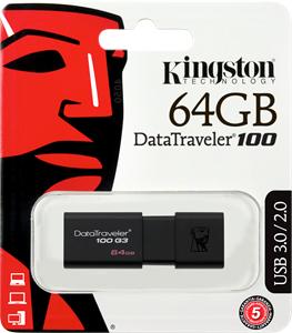 Kingston DataTraveler 64GB USB 3.0