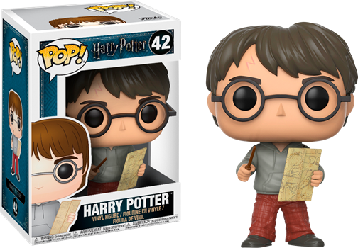 Funko POP Harry Potter - Harry with Marauders Map