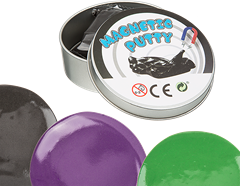 Putty Magnetic 60 g Assorted Colour