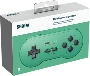 8Bitdo SN30 GP Green Ed. Gamepad