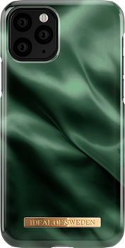 iDeal of Sweden Fashion Case iPhone X/XS/11 Pro Emerald Satin