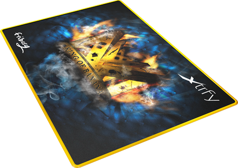 Xtrfy Mousepad Large, NiP Friberg King of Banana