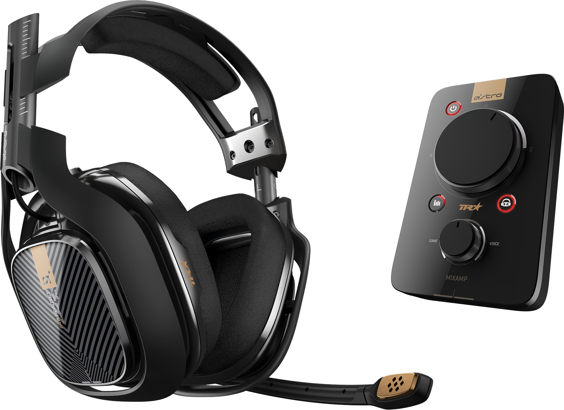 Läs mer om ASTRO Gaming A40 TR + MixAmp Pro PS4/PC