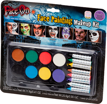Face On Face Painting Makeup Kit