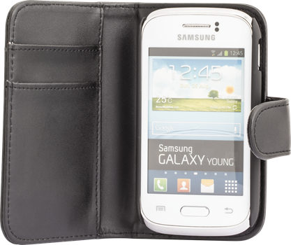 iZound Wallet Case Samsung Galaxy Young Black