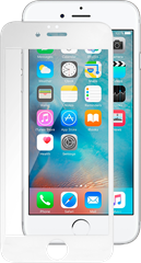 iZound 3D Curved Premium Grizzly Glass iPhone 6/6S White