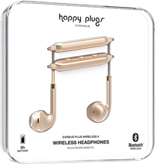 Happy Plugs Earbud Plus Wireless II Matte Gold