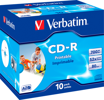 Verbatim CD-R 10-pack (JewelCase)