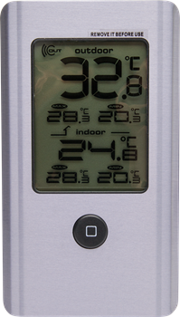 Wireless Indoor and Outdoor Thermometer