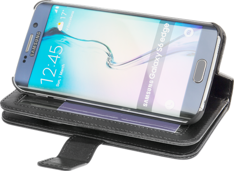 iZound Wallet Case Multi Samsung Galaxy S6 Edge Black