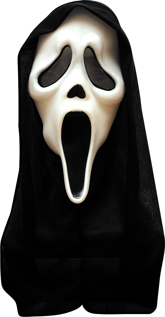 Läs mer om Scream-mask