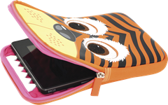 "Tab Zoo Tablet Sleeve Tiger 7-8"" universal"
