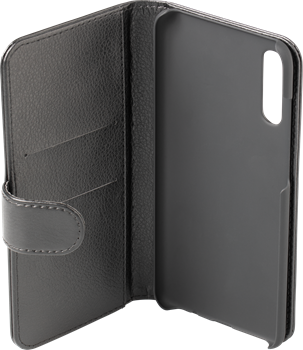 iZound Leather Wallet Case Samsung Galaxy A70 Black