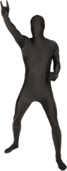 Morphsuit Black Large