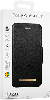 iDeal of Sweden Fashion Wallet iPhone 6/6S/7/8 Black
