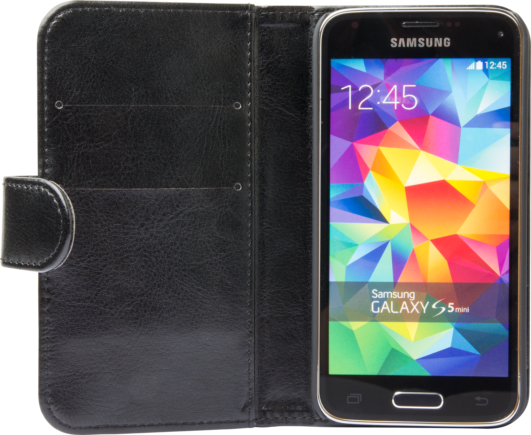 Läs mer om iZound Wallet Case Samsung Galaxy S5 Mini Black