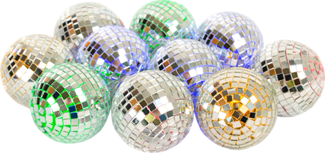 LED Disco Ball String Light