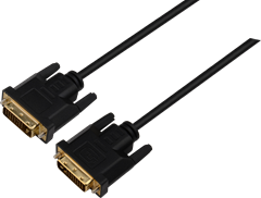 ZAP DVI-D Cable Black 5m