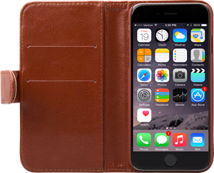iZound Wallet Case iPhone 6/6S Brown