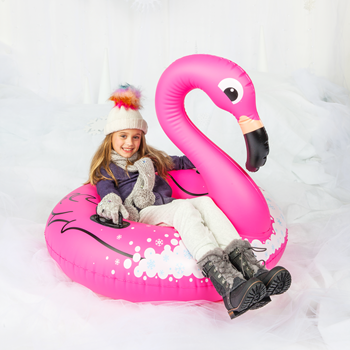 Snow Tube Flamingo