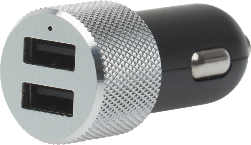 X Power 12V 2,1A + 1A USB laddare: Slimmad billaddare med