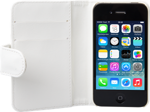iZound Wallet Case iPhone 4/4S White
