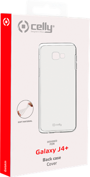 Celly TPU Cover Samsung Galaxy J4 Plus Clear