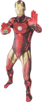 Morphsuit Iron Man XL