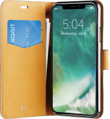 Xqisit Slim Wallet Selection iPhone XS Max Black