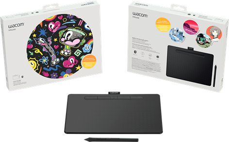 Wacom Intuos Medium BT, Black