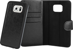 Xqisit WalletCase Eman Samsung Galaxy S6 Edge Black