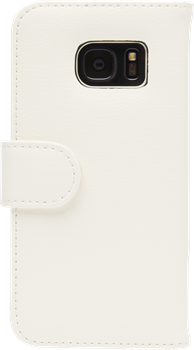 iZound Leather Wallet Case Samsung Galaxy S7 White