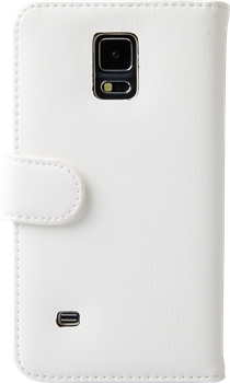 iZound Leather Wallet Case Samsung Galaxy Note 4 White