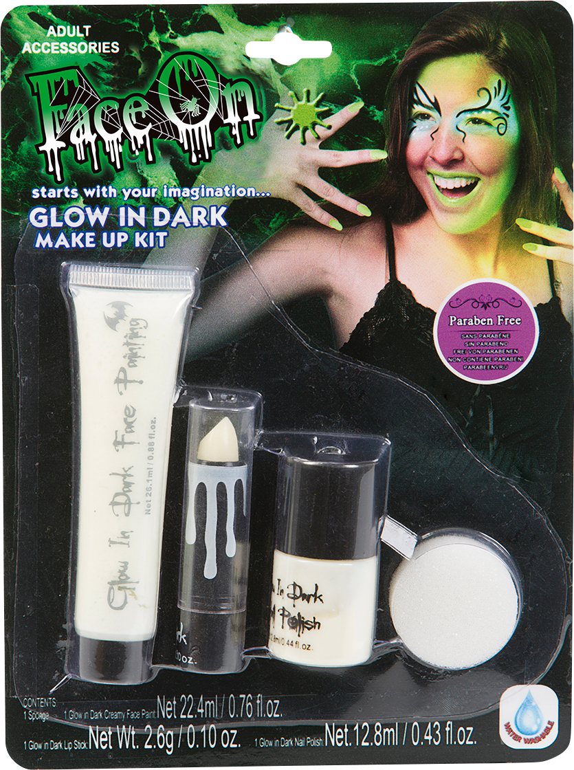 Läs mer om Make Up Kit Glow in the dark