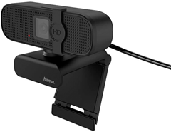 Hama Webcam Full HD Spy Protection 16:9 Mono Svart