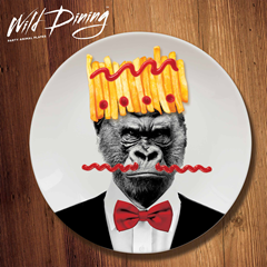 Wild Dining Dinner Time Gorilla