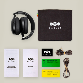House of Marley Positive Vibration XL Signature Black