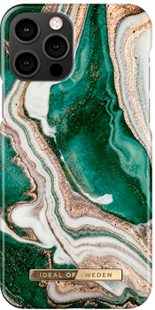 iDeal of Sweden Fashion Case iPhone 12/12 PRO Golden Jade Marble
