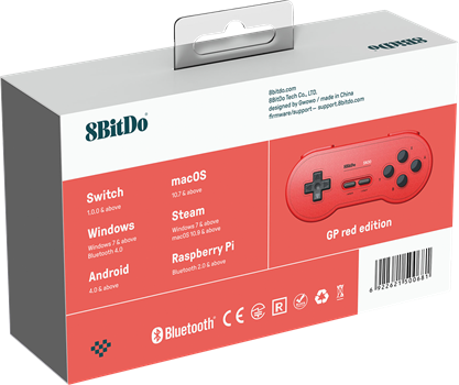 8Bitdo SN30 GP Red Edition Gamepad