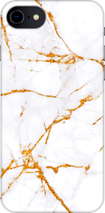 Avity TPU Case iPhone 6/6S/7/8/SE Golden Marble
