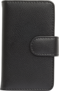 iZound Leather Wallet Case iPhone 4/4S Black