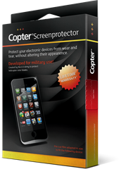 Copter Screenprotector iPhone 5