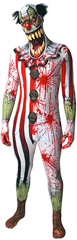 Morphsuit Clown Jaw Dropper XL