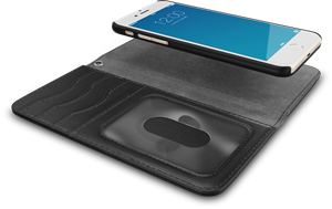 iDeal of Sweden Magnet Wallet+ iPhone 6/6S/7/8/SE Black