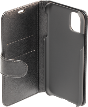 Avity Leather Wallet Case iPhone 11 Pro Black