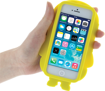 Minions Silicone Cover Dave iPhone 5
